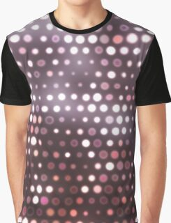 Dots, Pink (Texture, Background) Graphic T-Shirt