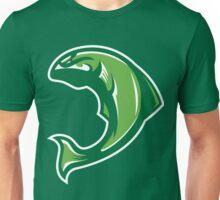 Spring Salmon (Green/White/Lime) - Spor Repor Salmon Unisex T-Shirt