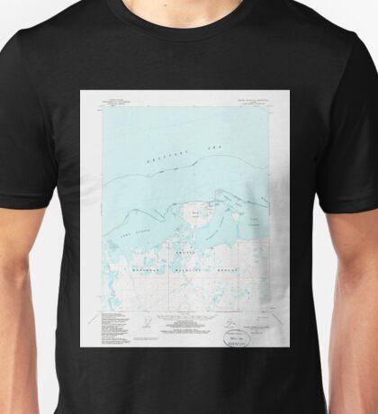 USGS TOPO Map Alaska AK Barter Island A-5 354215 1955 63360 Unisex T-Shirt