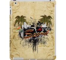Sport, surf design iPad Case/Skin