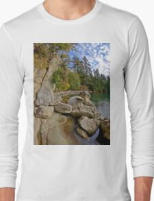 Larabee State Park on Chuckanut Drive Long Sleeve T-Shirt