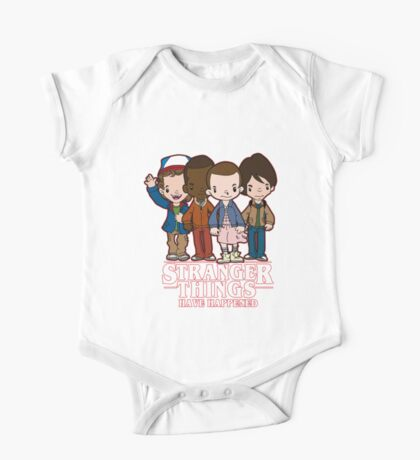 Stranger Things Have Happened One Piece - Short Sleeve
