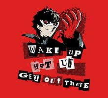 Wake up, Get up, Get Out There! - red Unisex T-Shirt