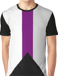 Demisexual Flag Graphic T-Shirt