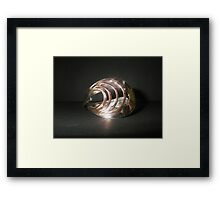 Bangle (Art Deco) from old spoon Framed Print