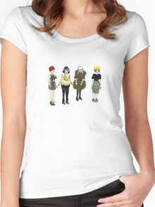 Punk Fashion Girls 2 Women's Fitted Scoop T-Shirt