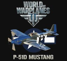 World of Warplanes P-51 Mustang by Mil Merchant