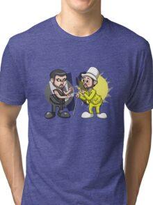 Day VS Night Tri-blend T-Shirt
