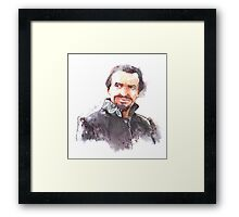 Watercolor Ainley!Master transparent version Framed Print