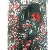 Expressive Amy Winehouse Photographic Print