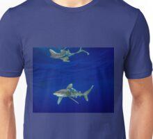 Cruising Oceanic White Tip And Surface Reflection Unisex T-Shirt
