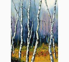 Winter Reverie by Lisa Elley. Palette knife painting in oil  T-Shirt