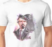 Watercolor Delgado!Master partly opaque version Unisex T-Shirt
