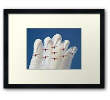On Top Of The World -  1 Mile High !! Framed Print