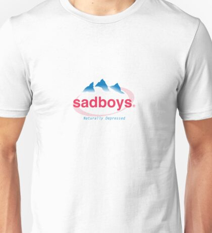SAD EVIAN WATER logo Unisex T-Shirt