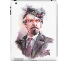 Watercolor Delgado!Master 2 partly opaque version iPad Case/Skin