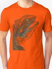 leguan, colored leguan Unisex T-Shirt