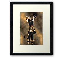 *•.¸♥♥¸.•* MEOW-ITS ME BABY WITH YOUR WAKE UP CALL - HOW DO U LIKE ME NOW *•.¸♥♥¸.•*  Framed Print