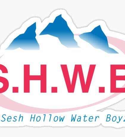 SESH Hollow Water Boyz Sticker