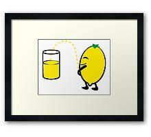 Limonade Framed Print