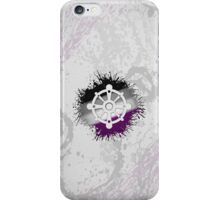 Buddhist Wheel of Dharma Asexual iPhone Case/Skin