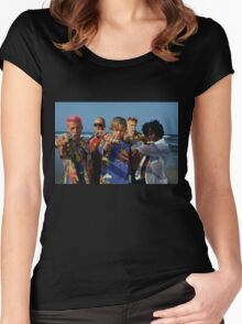 leonardo dicaprio 'romeo and juliet' t shirt Women's Fitted Scoop T-Shirt