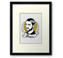 Creature Hub- James Framed Print