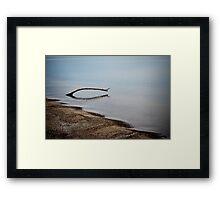 Lake Erie Tranquility 2 Framed Print