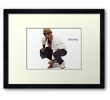 """Rent A Swag - """"Saturday"""" Framed Print"""