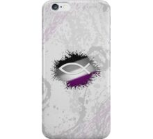 Christian Fish Asexual iPhone Case/Skin