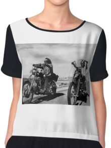Easy Rider Chiffon Top