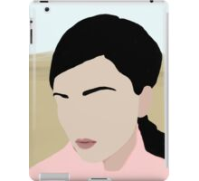 Abigail: a minimal portrait iPad Case/Skin