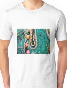 Fishing Gear At The Cobb 3 - Lyme Regis Unisex T-Shirt
