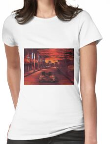 Back To The Future 1 Womens Fitted T-Shirt