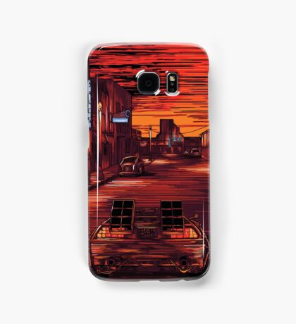 Back To The Future 1 Samsung Galaxy Case/Skin