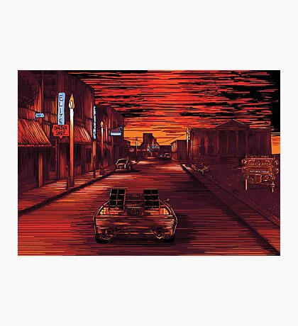Back To The Future 1 Photographic Print