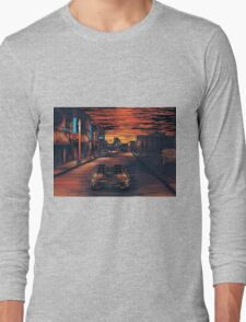 Back To The Future Version 2 Long Sleeve T-Shirt