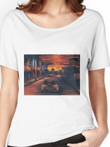 Back To The Future Version 2 Women's Relaxed Fit T-Shirt