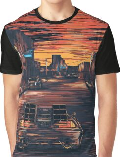 Back To The Future Version 2 Graphic T-Shirt