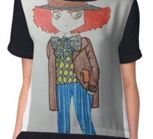 Mad Art Chiffon Top