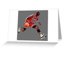 Michael Jordan - Smile Design 2016 Greeting Card