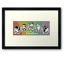 The Creatures Framed Print