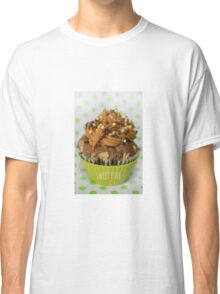 Sweet green love cupcake Classic T-Shirt