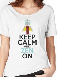 Keep Calm and Zen On Women's Relaxed Fit T-Shirt
