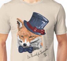 What A Fancy Fox  Unisex T-Shirt