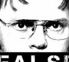 FALSE - Dwight Shrute Sticker