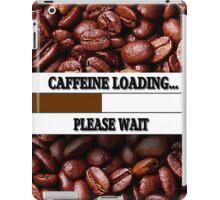 ☝ ☞ CAFFEINE LOADING THROW PILLOW & TOTE BAG ☝ ☞ iPad Case/Skin