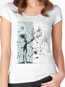 Ink Dance Women's Fitted Scoop T-Shirt
