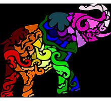 Punk Elefant Photographic Print