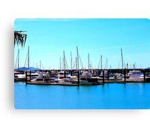 Abel Point Marina Canvas Print